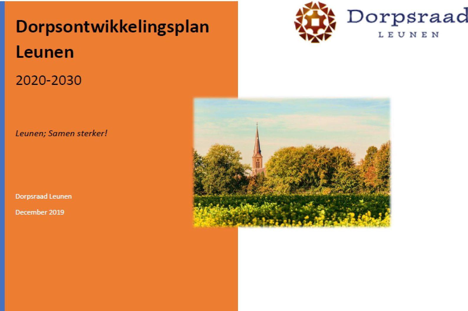 Dorpsontwikkelingsplan 2020-2030