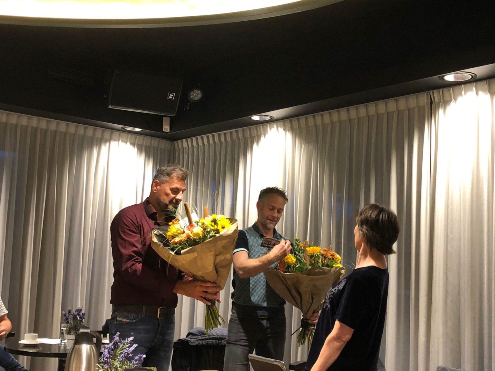 Afscheid Misja Nabben en Guido Voncken